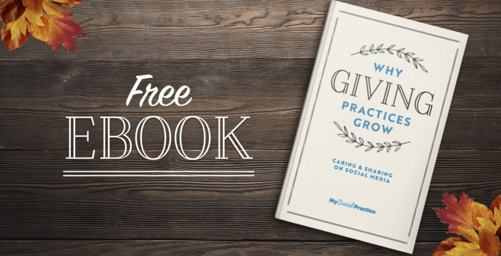 Free ebook: why giving practices grow