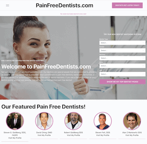 Dentalvibe® launches painfreedentists. Com to help promote dentalvibe® certified pain-free dentists.
