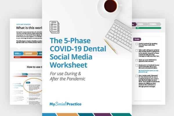Free download: the 5-phase covid-19 dental social media worksheet