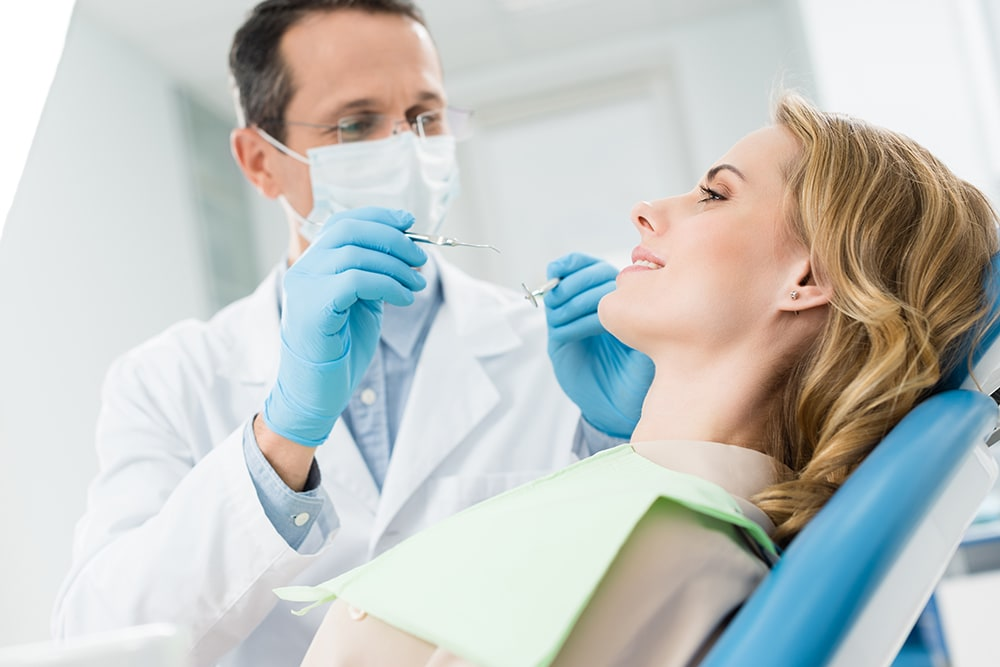 Visit the dentist while pregnant