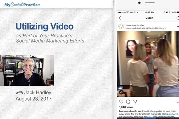 Free webinar: utilizing video